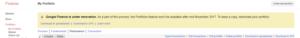 Google Financeが改装中、11月にはポートフォリオが利用できなくなります